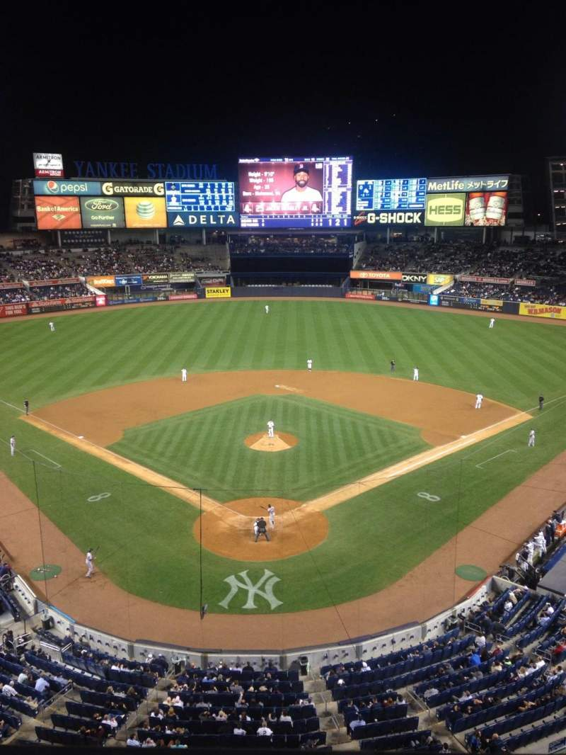Seating view for Yankee Stadium Section 320b Row 1 Seat 3