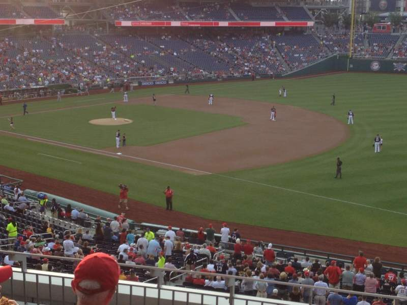 Seating view for Nationals Park Section 225 Row E Seat 10