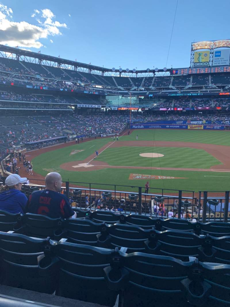Seating view for Citi Field Section 115 Row 5 Seat 9