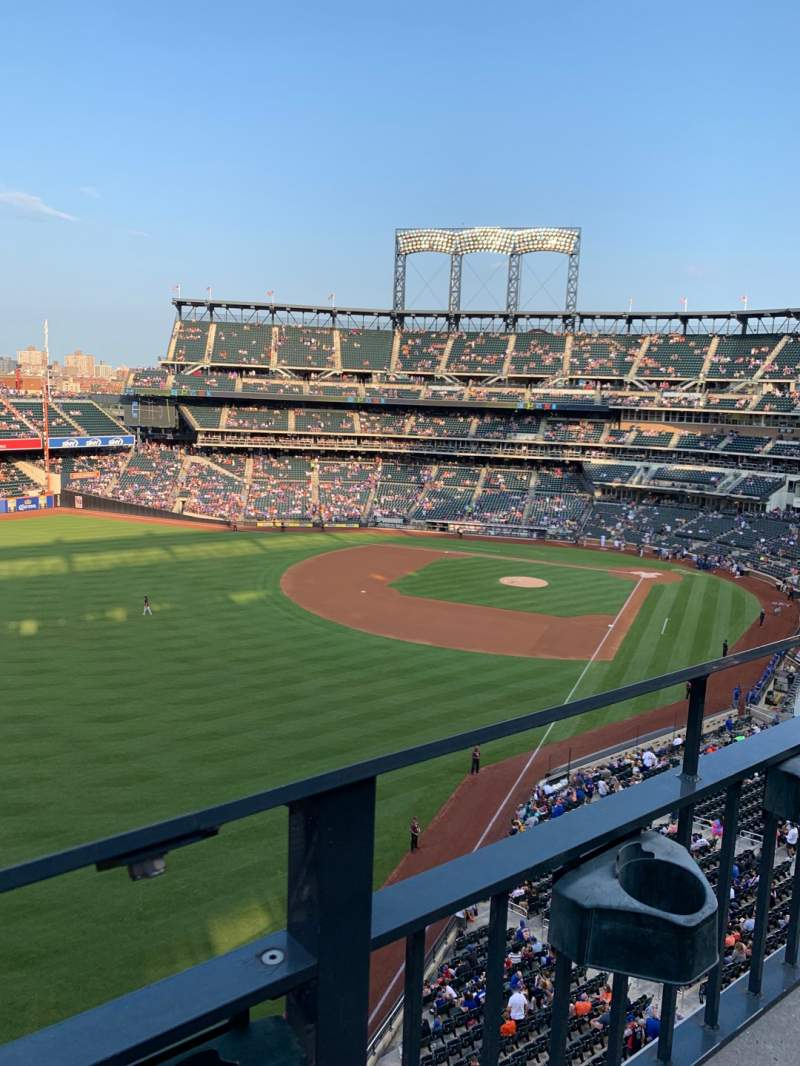Seating view for Citi Field Section 429 Row 1 Seat 13