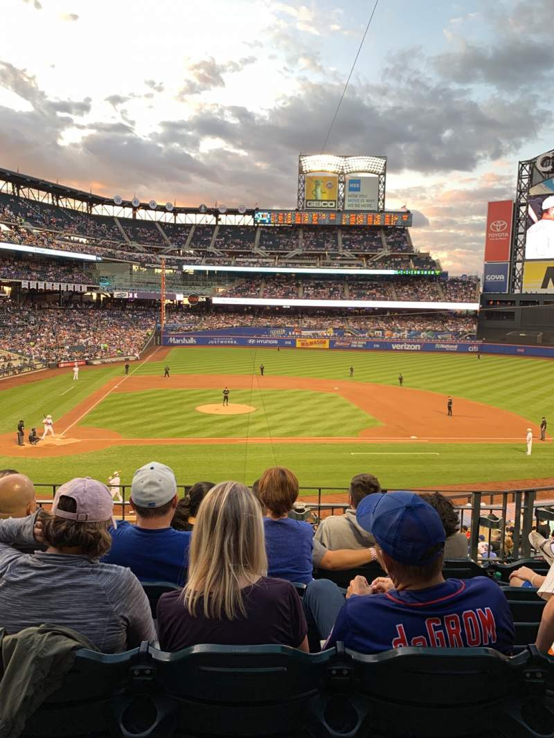 Seating view for Citi Field Section 115 Row 5 Seat 7