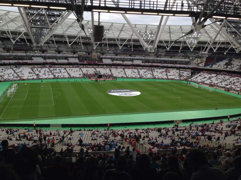 Seating view for London Stadium Section 233 Row 164 Seat 517