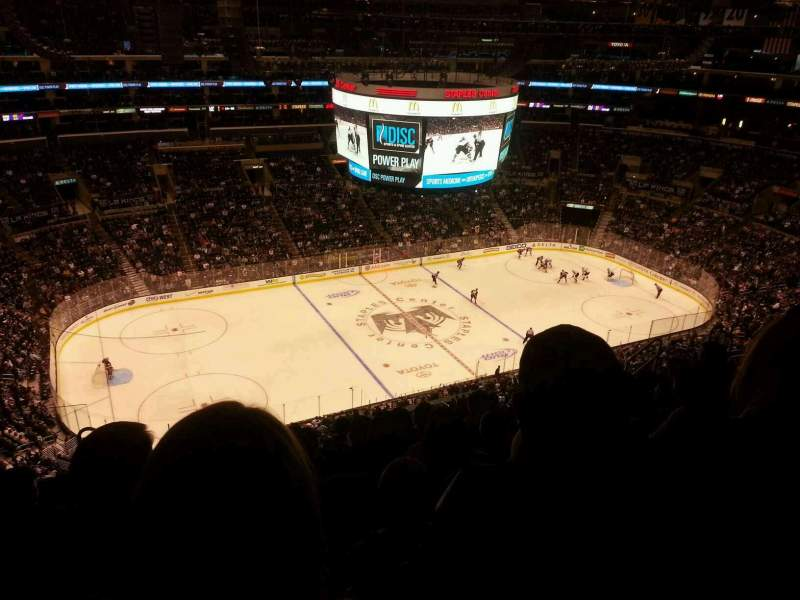 Seating view for Staples Center Section 303 Row 10 Seat 11