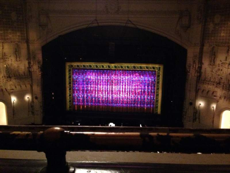 Orpheum Theatre (San Francisco), section: Balcony C, row: A, seat: 212