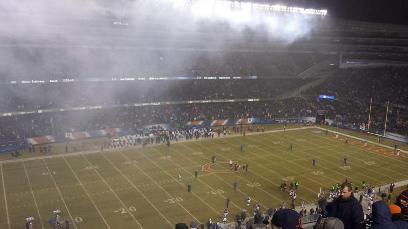 Seating view for Soldier Field Section 441 Row 12 Seat 6