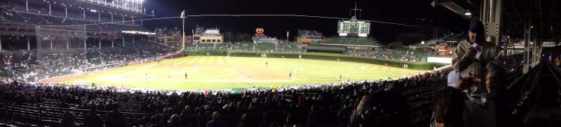 Seating view for Wrigley Field Section 131