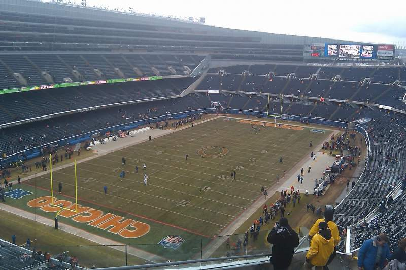 Seating view for Soldier Field Section 446 Row 12