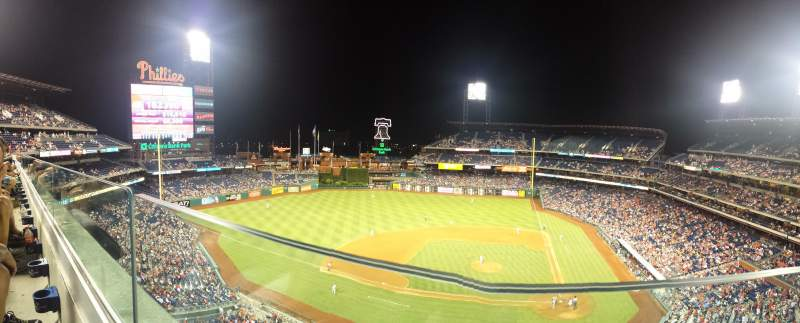 Citizens Bank Park, section: 325, row: 1