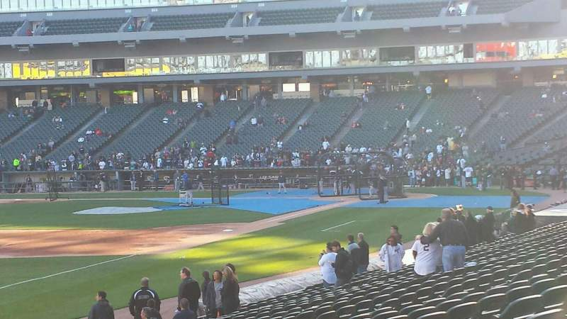 Seating view for Guaranteed Rate Field Section 150