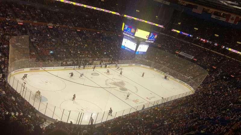 Seating view for Scottrade Center Section 325 Row N Seat 11