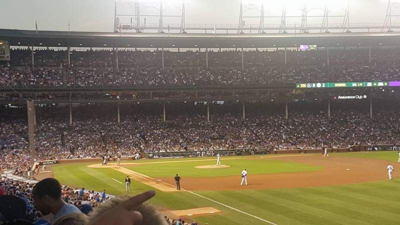 Seating view for Wrigley Field Section 240 Row 12 Seat 5