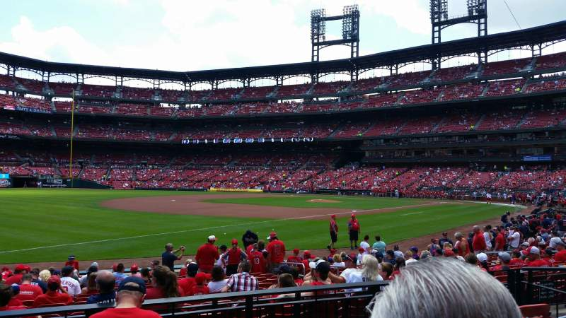 Seating view for Busch Stadium Section 163 Row 5 Seat 9
