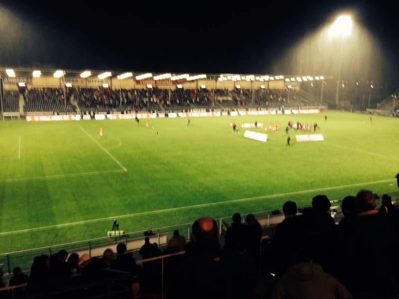 Seating view for Stade Jean Bouin Section Jean bouin Premiere Escalier 2 Row V Seat 26