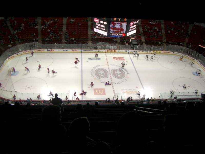 Seating view for Centre Bell Section 402
