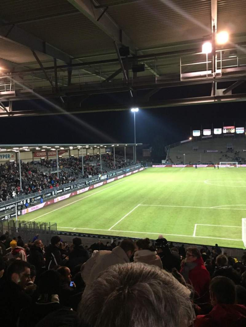 Seating view for Stade Jean Bouin Section Coubertin D Row AE Seat 108