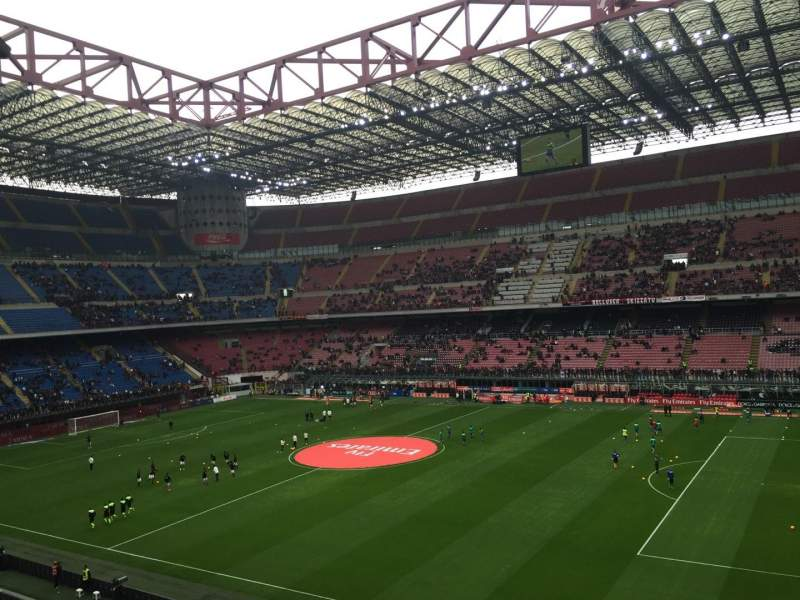 Seating view for Stadio Giuseppe Meazza Section Arancia Row 261 Seat 7-28