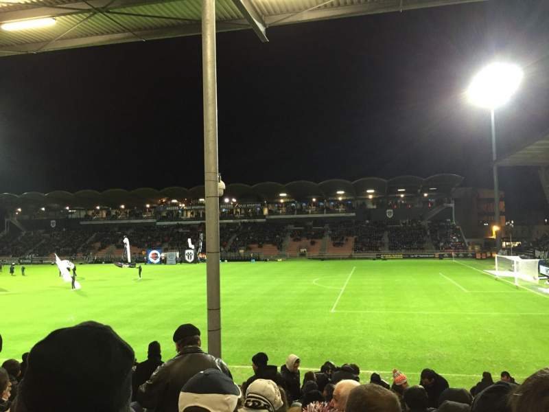 Seating view for Stade Jean Bouin Section St Leonard Laterale Row Q Seat 25