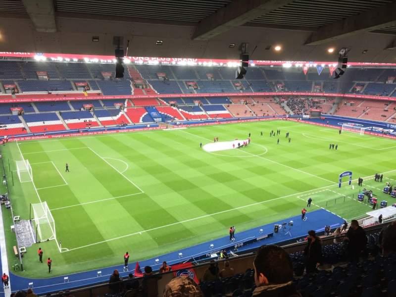 Parc Des Princes Section Borelli 417 Row K Seat 53 Paris Saint Germain Vs Angers Sco Shared By Xaluss