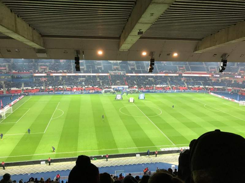 Seating view for Parc des Princes Section 404 Row 27 Seat 10
