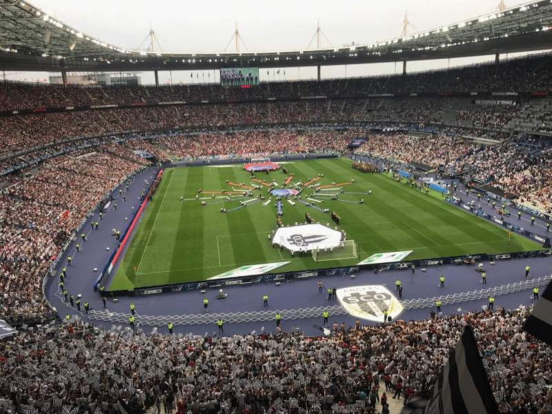 Seating view for Stade de France Section Nord Haute Row L15 Seat 67-1