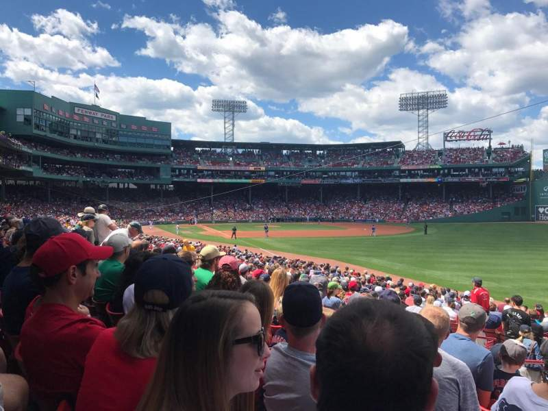 Fenway Park, section: B, row: 92, seat: 24