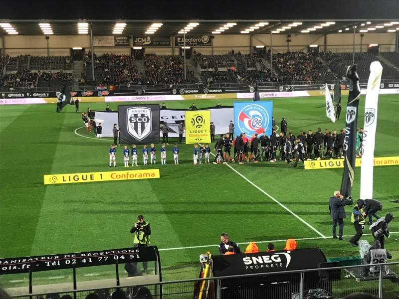 Seating view for Stade Raymond Kopa Section Jean Bouin Row N Seat 1