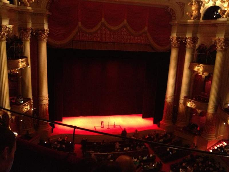 Seating view for Academy of Music Section Family Circle F Row C Seat 7