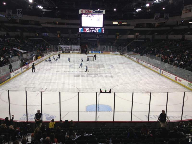 Seating view for Sun National Bank Center Section 111