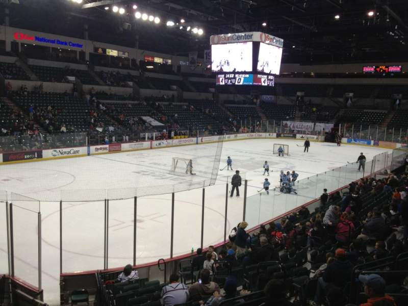 Seating view for Sun National Bank Center Section 109