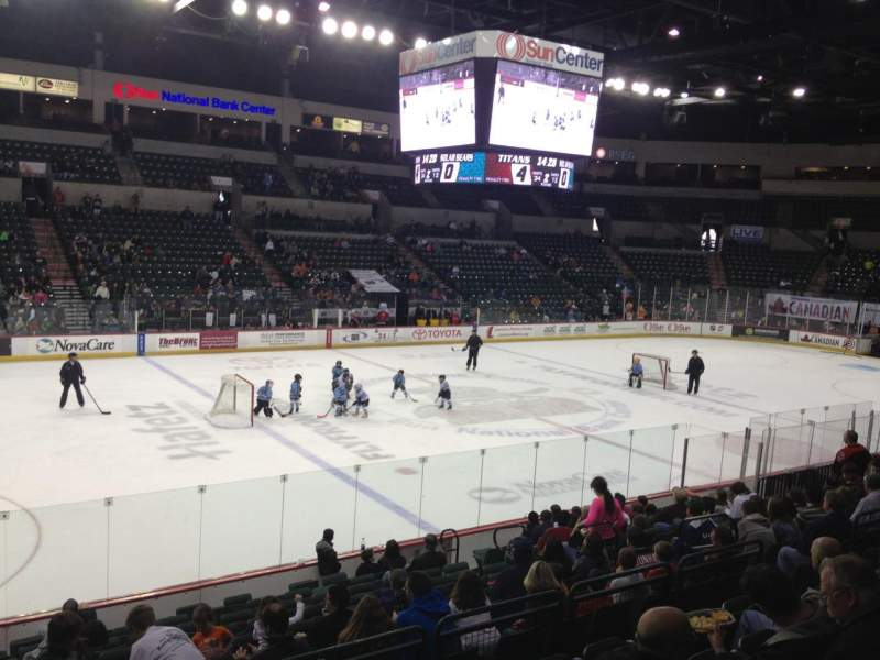 Seating view for Sun National Bank Center Section 107
