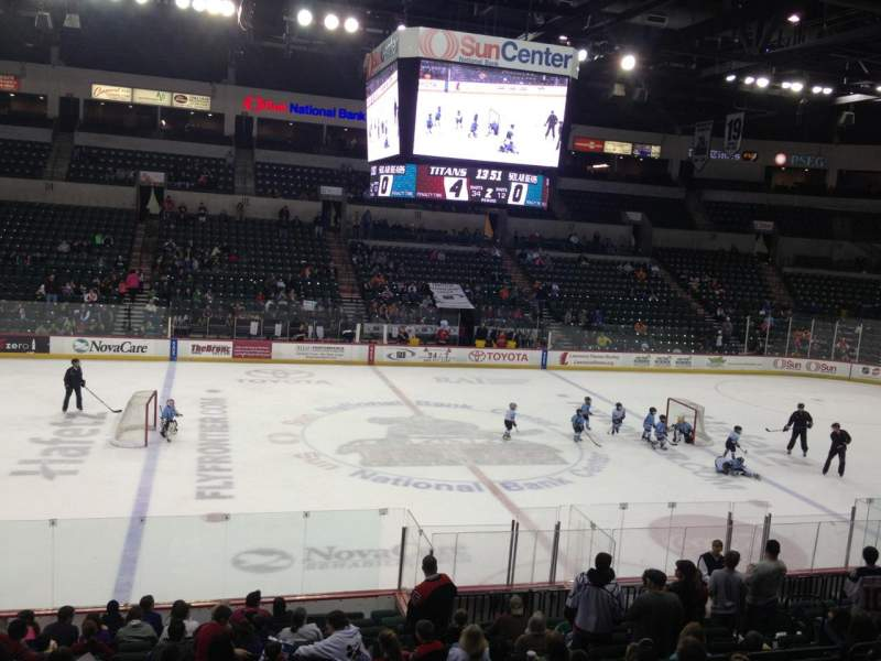 Seating view for Sun National Bank Center Section 106