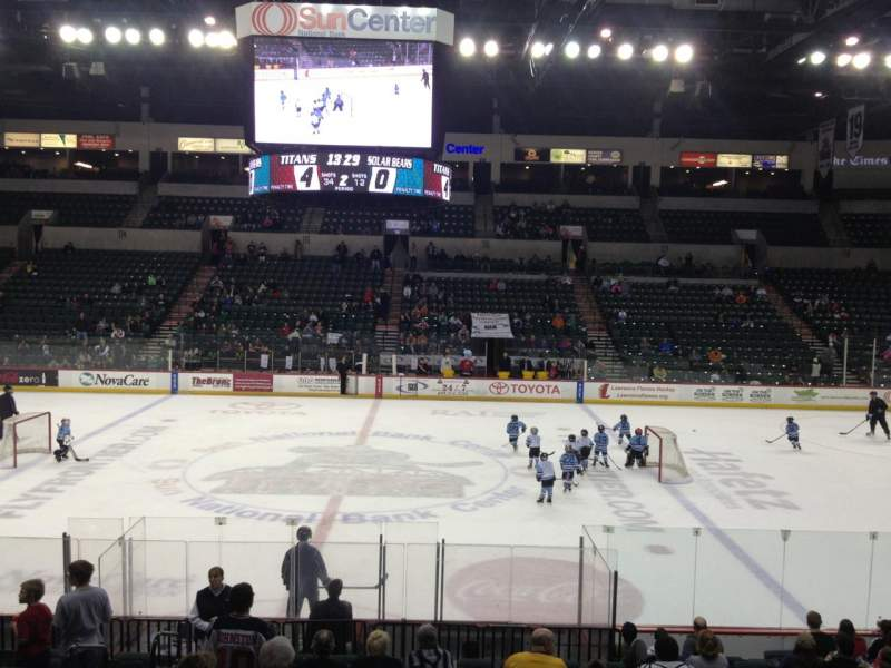 Seating view for Sun National Bank Center Section 105