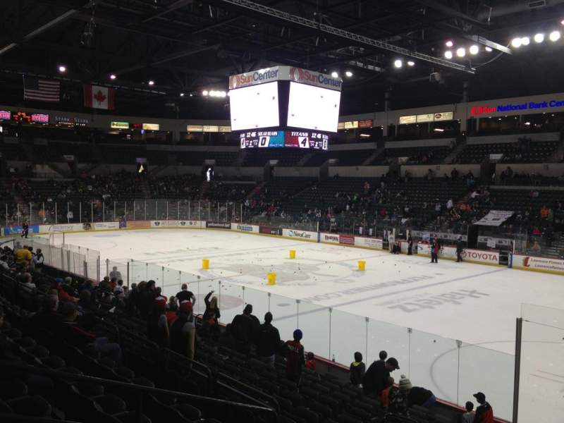 Seating view for Sun National Bank Center Section 103
