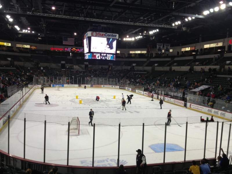 Seating view for Sun National Bank Center Section 102