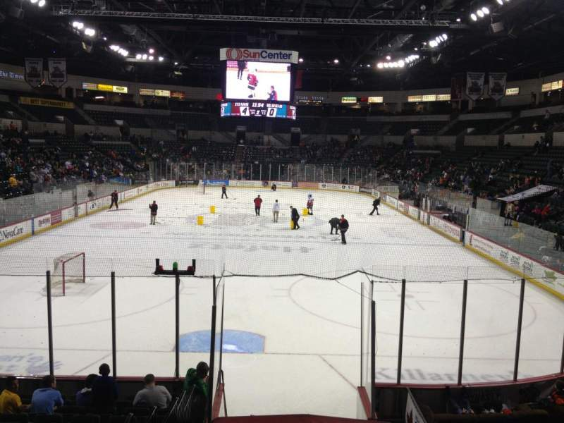 Seating view for Sun National Bank Center Section 101