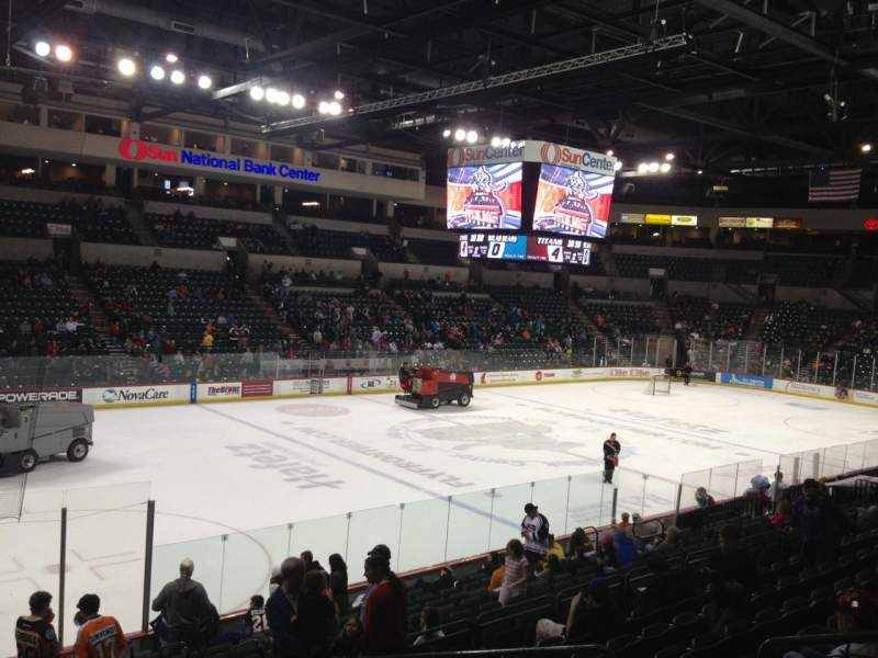 Seating view for Sun National Bank Center Section 118