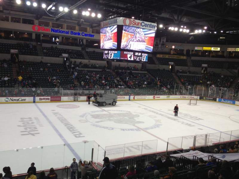 Cure Insurance Arena, section: 117