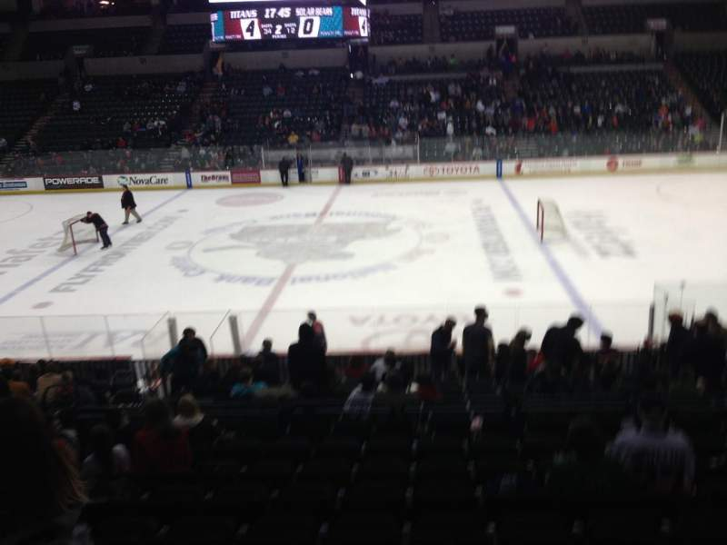 Seating view for Sun National Bank Center Section 115