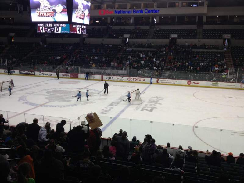 Seating view for Cure Insurance Arena Section 114