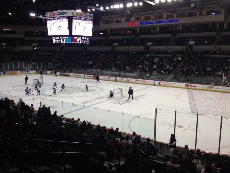 Seating view for Sun National Bank Center Section 113