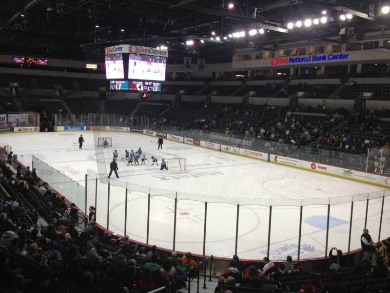 Cure Insurance Arena, section: 112
