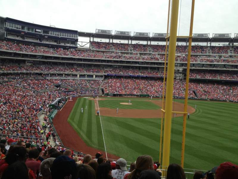 Seating view for Nationals Park Section 235 Row K Seat 8