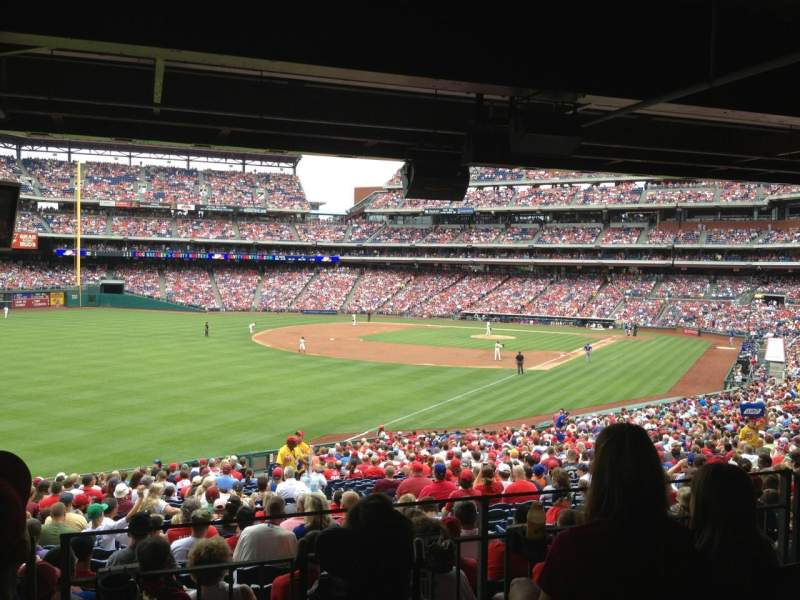 Seating view for Citizens Bank Park Section 139 Row Standing
