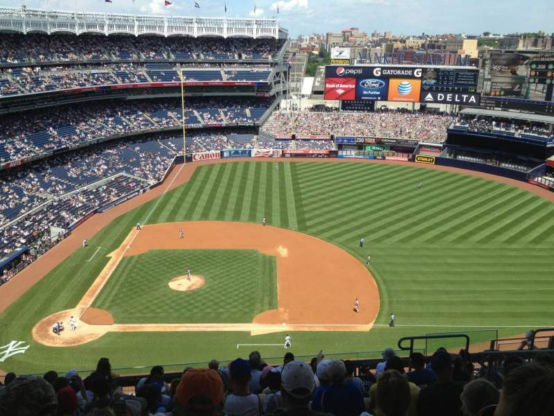 Seating view for Yankee Stadium Section 416 Row 11 Seat 10