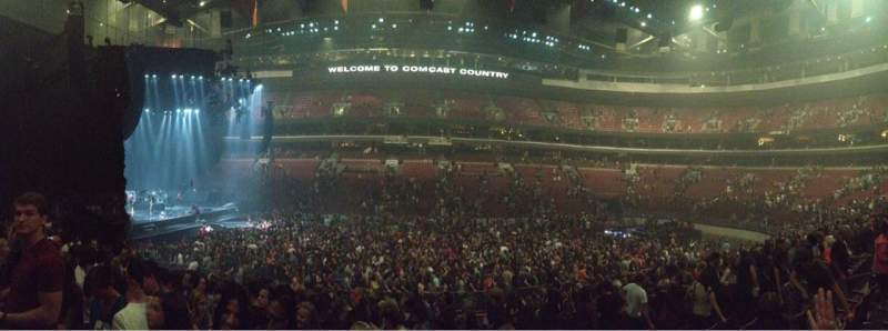 Wells Fargo Center, section: 101, row: 15, seat: 4