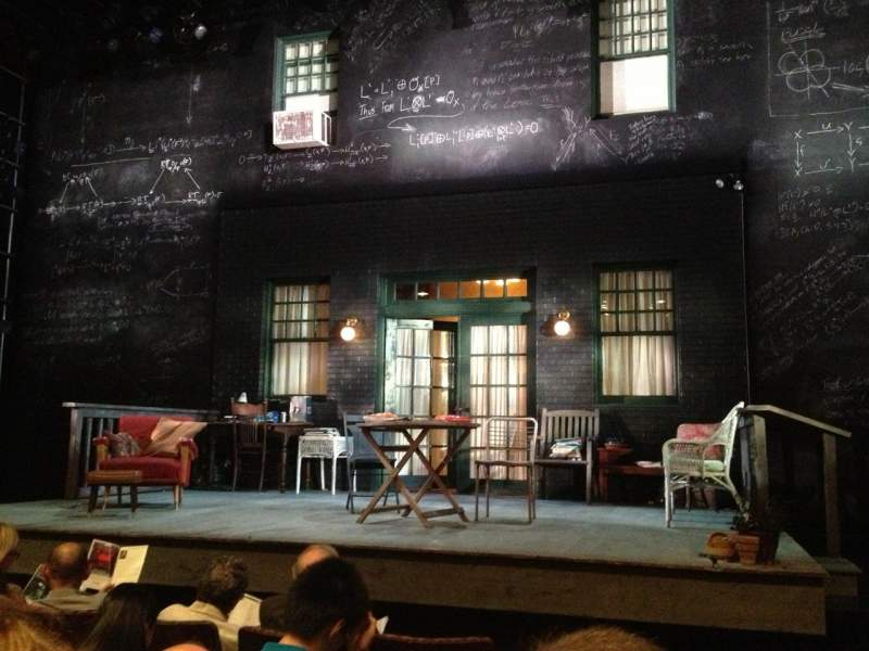 Seating view for McCarter Theatre, Berlind Theatre Section Floor 1, Aisle A Row C Seat 101