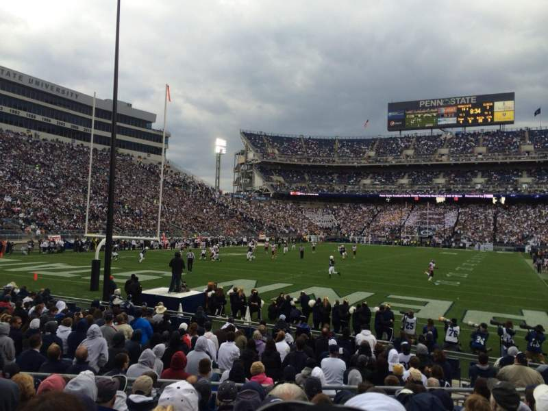 Seating view for Beaver Stadium Section ND Row 10 Seat 17