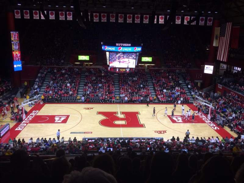 Seating view for Rutgers Athletic Center Section 214 Row Q Seat 12