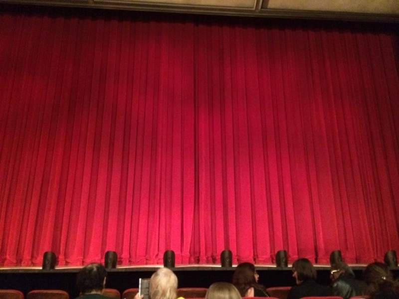Seating view for McCarter Theatre Center - Matthews Theatre Section Orch Row F Seat 106
