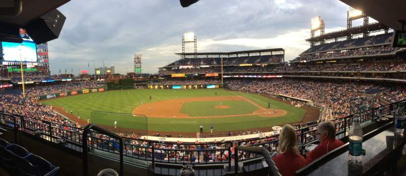 Seating view for Citizens Bank Park Section Suite 21 Seat 1